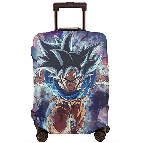 Anime Dragon Ball Promise Super Goku Funda de Equipaje de Viaje Protector de Maleta Equipaje Lavable Fundas de Equipaje