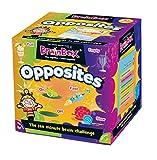 Green Board Games GRE91028 BrainBox Opuestos, Juego de Cartas