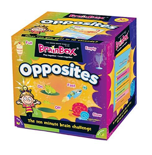 Green Board Games 91028Brainbox Opposites, multi