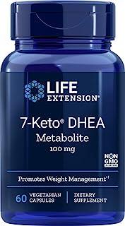 Life Extension 7-Keto DHEA 100 Mg, 60 vegetarian capsules (120)