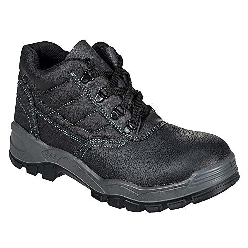 Portwest - Steelite Safety Boot S1, Scarpe antinfortunistica uomo, color Nero (Schwarz), talla 48 EU