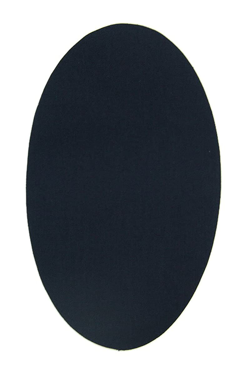 6 Piece Knee Patches Navy. Iron Pads to Protect Your Clothes and Repair of Trousers, Jackets, Sweaters, Shirts. 16 x 10 cm. RP1