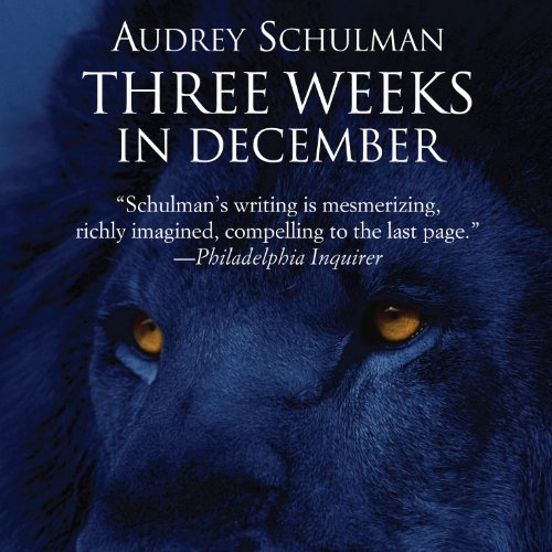 Three Weeks in December audiobook cover art