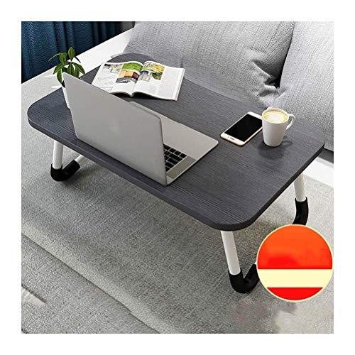 Mutmi Portátil Mesa Plegable Ajustable Mesa Bandeja ergonómica al Soporte portátil portátil portátil (Negro, Tamaño, Básico),Negro,Actualizar