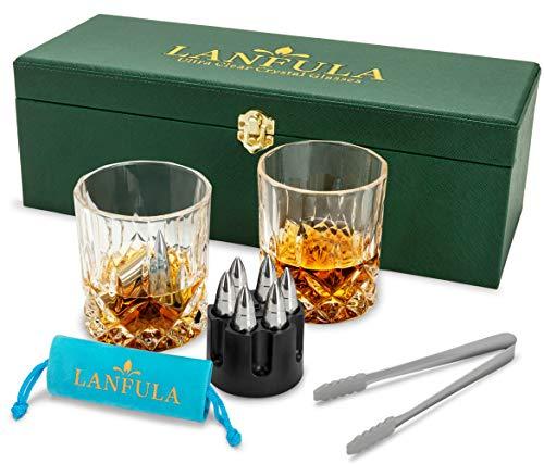 LANFULA Whiskey Glasses