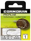 Cormoran PROFILINE Teighaken Nickel Gr. 8 0,22mm