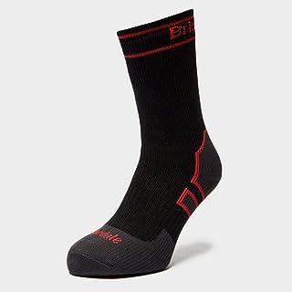 Bridgedale, Storm Sock HW Bota Calcetines, Unisex adulto, Negro / Rojo, Única