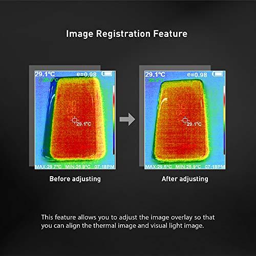 『PerfectPrime IR0018, 35200 画素の赤外線熱画像 可視光カメラ 熱画像キャプチャー頻度 9HZ』のトップ画像
