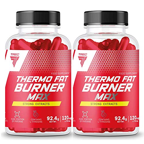 TREC Thermo Fat Burner MAX 240 Capsules | Weight Loss | Slimming Pills | Energy Pills | Fat Tissue Reduction