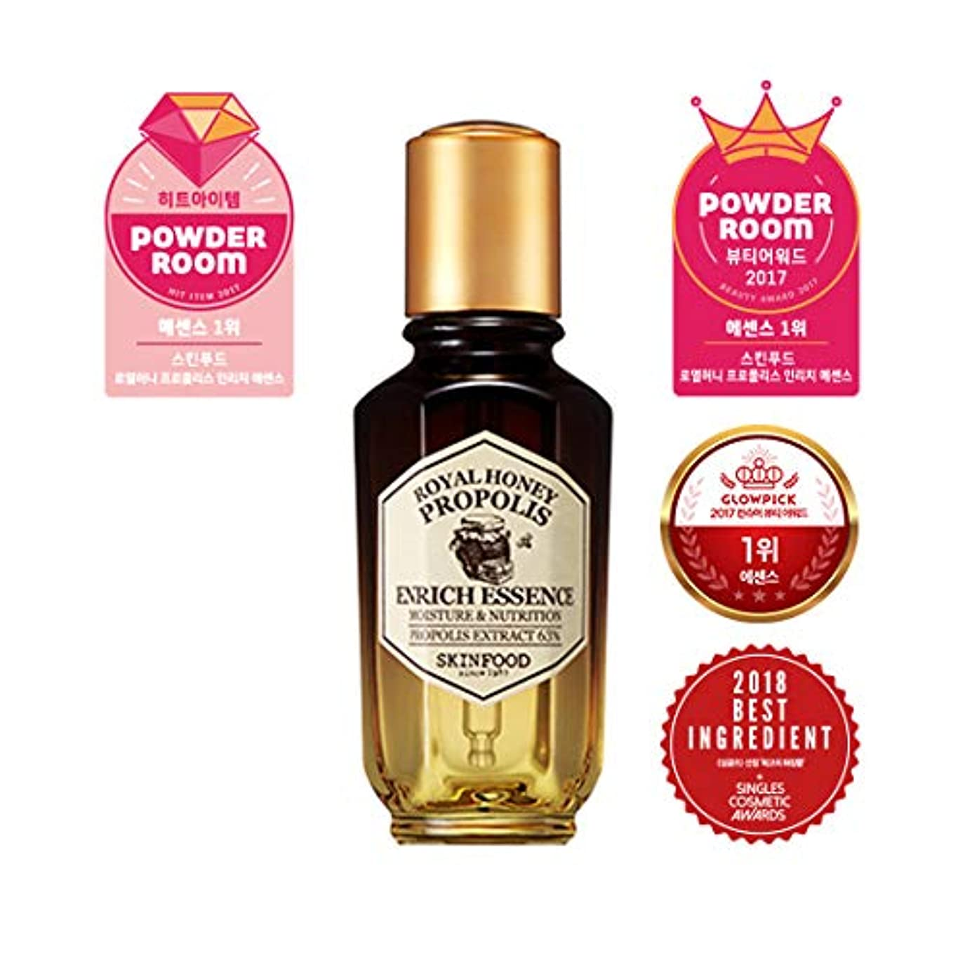 苛性貪欲青写真Skinfood ロイヤルハニープロポリスエンリッチエッセンス/Royal Honey Propolis Enrich Essence 50ml [並行輸入品]