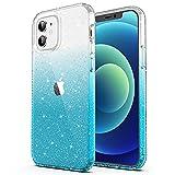 ULAK Funda iPhone 12, iPhone 12 Pro Carcasa a Prueba de Golpes de Estuche Parachoques de Resistente Caso de protección Suave de TPU para Apple iPhone 12 / iPhone 12 Pro 6,1 Pulgada 2020 - Cielo Azul