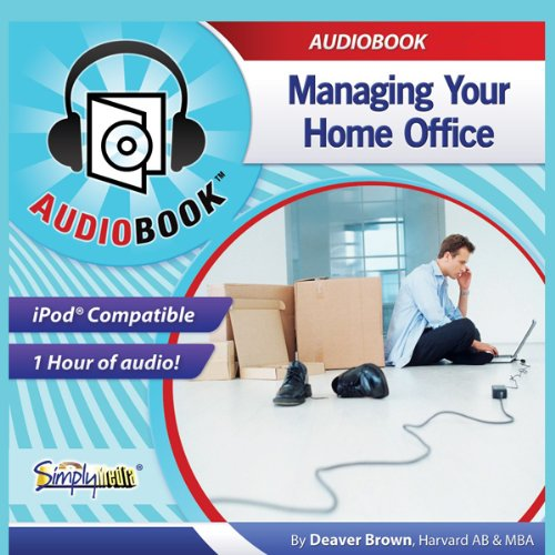 Managing Your Home Office audiobook cover art