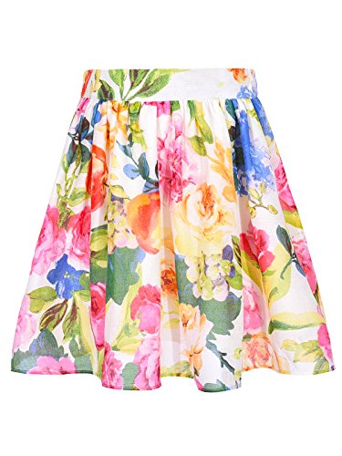 Bonny Billy Girls Skirts Tutu for Summer School Casual Flared Kids Dress 7/8 Multi