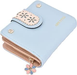 Fairycase Girls Wallet Cute Short Wallet Card Holder Lady Zipper Coin Purse