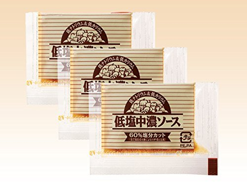 フードケア 低塩中濃ソース 5g×50食×20