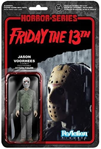' Friday the 13th ' [ Re- action ] 3.75 inches action figures ' horror ' series 1 Jason Voorhees by Fanko