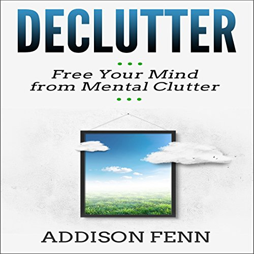 Declutter audiobook cover art