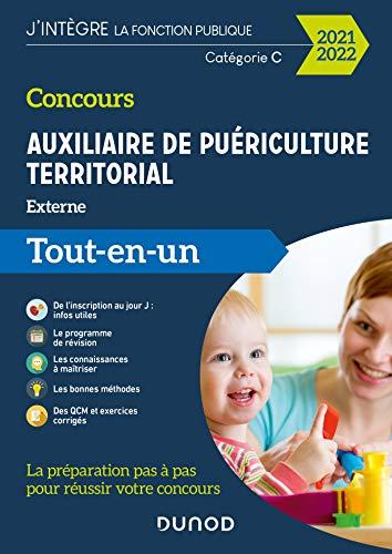 Concours Auxiliaire de puériculture territorial 2021-2022 - Tout-en-un: Tout-en-un (2021-2022)