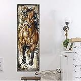 KWzEQ Imprimir en Lienzo Corcel para póster de Sala de Estar y decoración de paredes40x120cmPintura sin Marco