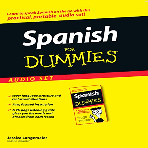 Spanish for Dummies audiobook cover art