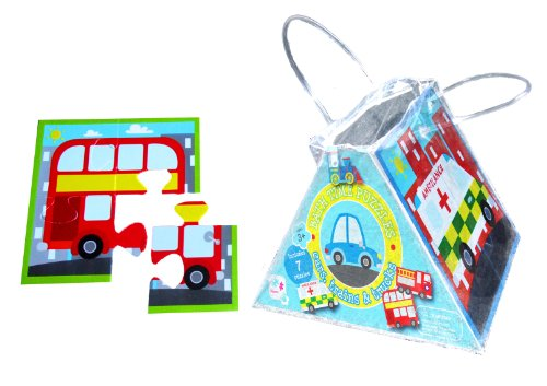 Meadow Kids Cars, Trains and Trucks Bath Jigsaw