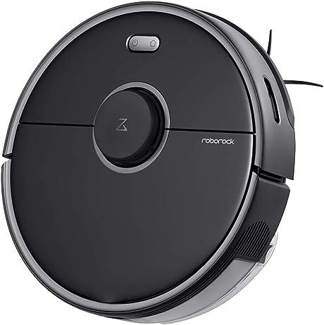 Roborock S5 MAX Robot Vacuum and Mop - Black