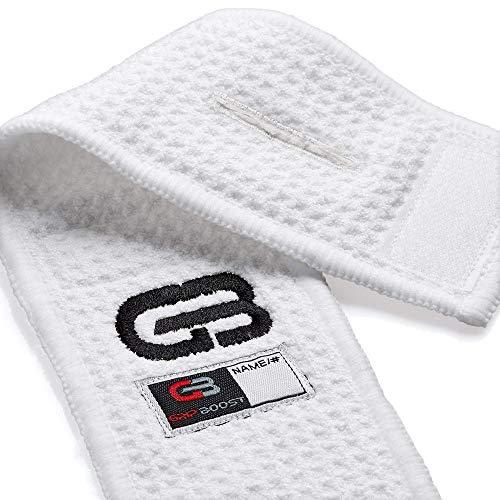 GRIP BOOST American Football Field Towel, weiß