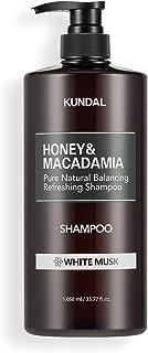 [KUNDAL公式]クンダル ネイチャー シャンプー1058ml ホワイトムスク Nature Shampoo 1058ml White musk 全成分EWGグリーンレベル・pH弱酸性・自然由来界面活性剤