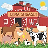 FARM ANIMALS: FUN GUESSING GAME | A CUTE NOTEBOOK TO GUESS WHICH ANIMALS LIVE ON THE FARM | BONUS 2 DOT-TO-DOT DRAWINGS TO COLOR | FOR 3-6 YEAR OLD ... TO 2ND GRADE PRIMARY SCHOOL | CREATIVE GIFT.