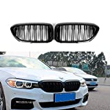 Qitian ABS Gloss Black Front Kidney Grille Grill For BMW 5 Series G30 G31 F90(M5)