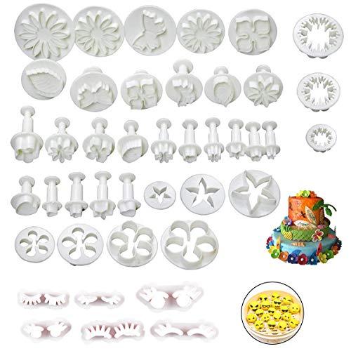 Set di Stampi per Pasta di Zucchero, Fondente Torta Decorazione, Strumenti di Decorazione Torta, DIY Glassa Stampi Modelling Tool Kit Set, per Decorare la Torta Fondente Attrezzi