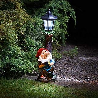 Garden Gnome Solar Powered Lamp