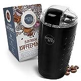 ARENSBERG | Premium Kaffeemühle elektrisch mit Sicherheitsdeckel – Kaffeemühle mit Pinsel [150 W] – Coffee Grinder für Nüsse und Gewürze