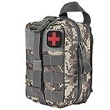 医療バッグ メディカルバッグ MOLLE アウトドア収納式 医療 EMT 救急対応用品 防災用品 旅行 登山 ACU