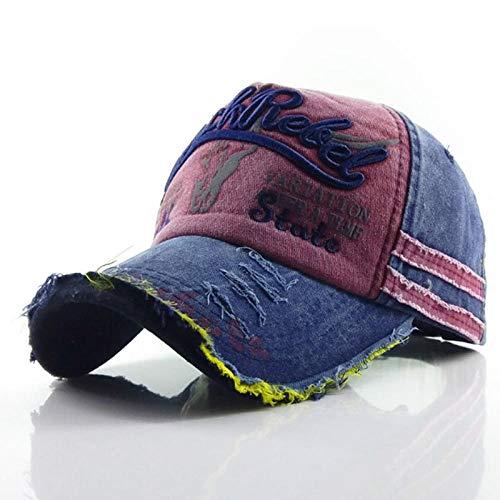 NYJNN Berretto da baseballCappellino snapback in denim a 6 colori Cappellino in cotone autunnale con lettera da uomo nuovo Cappellino da baseball da d