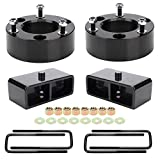 Leveling Lift Kit for Chevy Silverado/GMC Sierra 1500,3 inch Front and 2 inch Rear Strut Spacers Leveling Kit for 2007-2019 Silverado 1500/GMC Sierra 1500