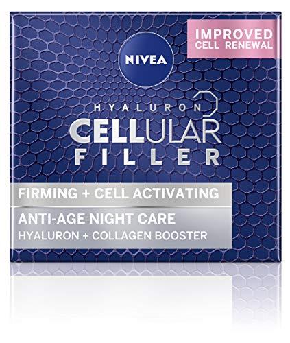 NIVEA Hyaluron Cellular Filler Anti-Age Night Cream, Night Cream for Women...