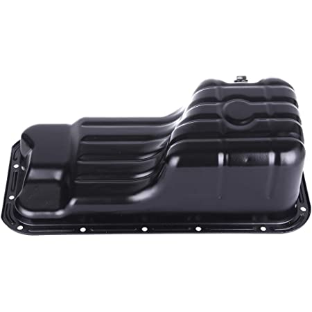 QUALINSIST Engine Oil Pan 264-500 Oil Sump Pan for N-issan 200SX Sentra 95 96 97 98 99 00 01 02 03 04 05 Oil Change