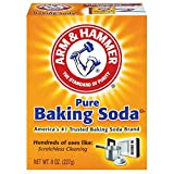 Arm & Hammer Pure Baking Soda, 8oz, Pack of 2