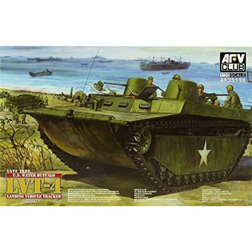 AFV Club Models 1/35 U.S. Water Buffalo LVT-4 (Late Type)