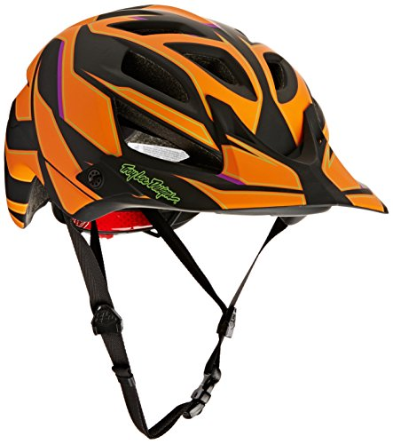 Casque A1 Reflex Troy Lee, Mixte, A1 Reflex, Orange - Orange