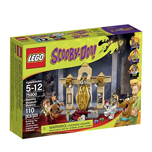 LEGO Scooby-Doo 75900 Mummy Museum Mystery Building Kit by LEGO