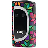MightySkins Skin Compatible with Sigelei KAOS Spectrum Kit – Stained Glass Window | Protective, Durable, and Unique Vinyl Decal wrap Cover | Easy to Apply, Remove, and Change Styles | Made in The USA