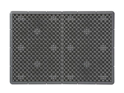 山崎産業 玄関マット 泥落とし コンドル 泥っぷマット グレー #6 60×85cm 日本製 473366 F-185-6