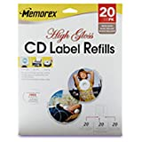 Memorex Premium High Gloss CD Label (00415) -