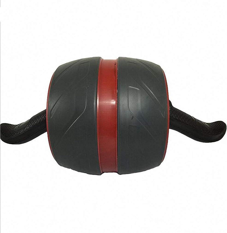 Haolv Ab Roller-übungsrad, Bauchmuskel-Bauchmuskel-Fitness-übungsgert mit Zwei Abdominal-Trainingsgerten mit Knie-Matte für Bodybuilding und Fitness,rotwine