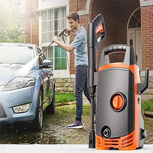 Fantastic Deal! Feng Car and Home Pressure Washer,90 Bar 1400W High-Pressure Washer with Accessories...