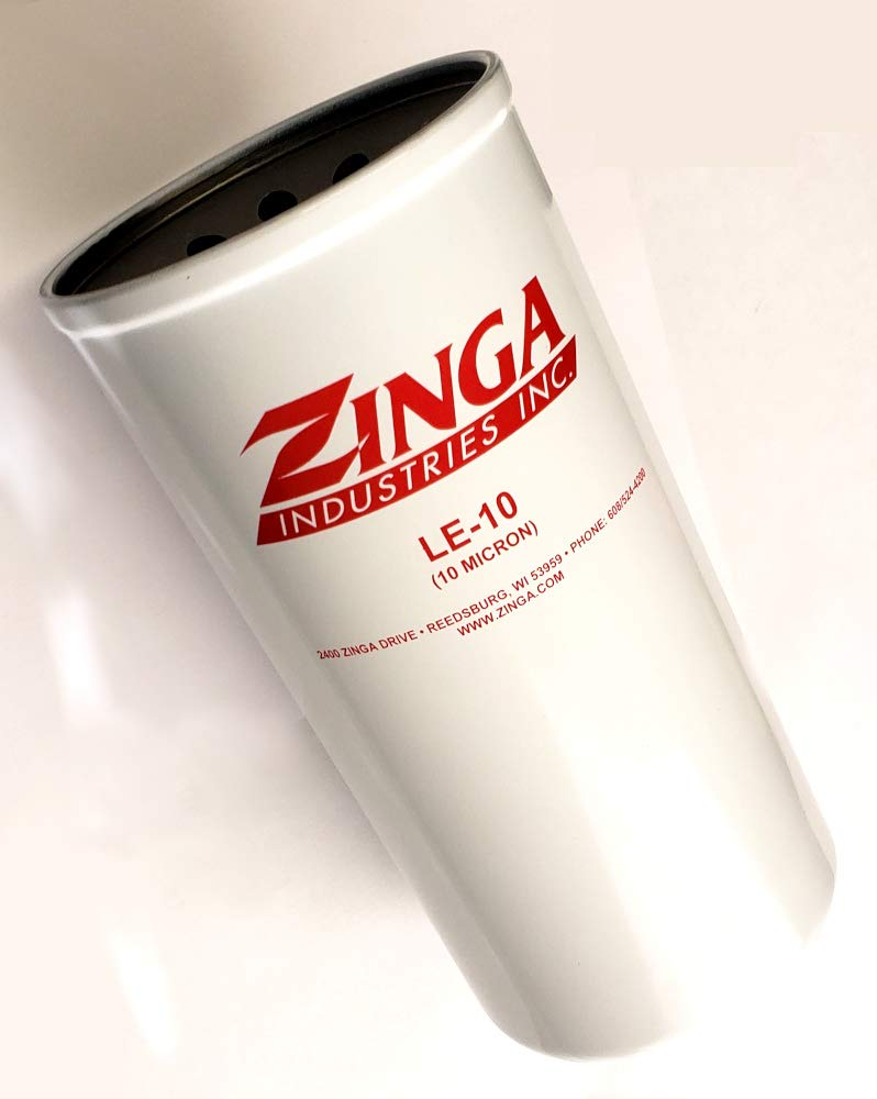 3 Pack of Filters ZINGA ZAE10 Replacement Spin-On Hydraulic Filter ...
