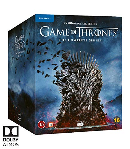 Game of Thrones: Die kompletten Staffeln 1-8 (EU Import mit Deutscher Sprache)