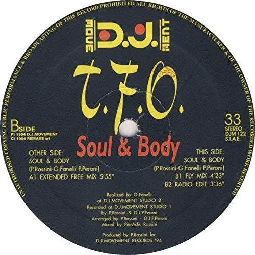 T.F.O. - Soul & Body - DJ Movement - DJM 122